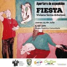 """Apertura Exposición """"Fiesta"""""""