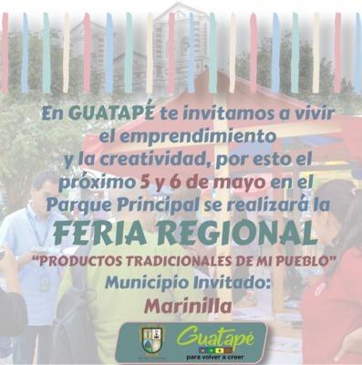 Feria Regional productos tradicionales de mi pueblo.