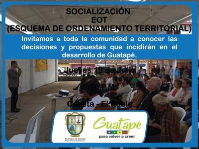 Socializacion EOT - Vereda El Roble