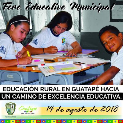 Foro Educativo 2018
