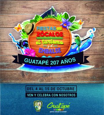 Fiestas de los Zócalos el Turismo  y  Embalse