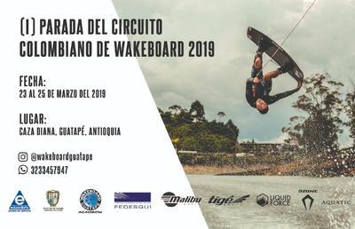 Primer campeonato nacional de wakeboard
