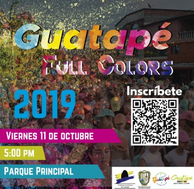 Guatapé Full Colors