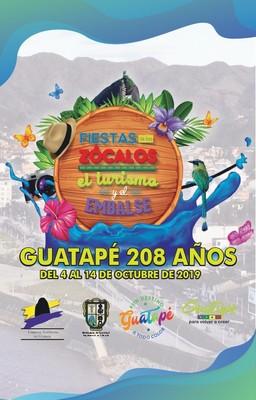 Programacion Fiestas de los Zocalos el Turismo y el embalse 2019