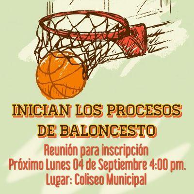 Reunión informativa procesos de Baloncesto.
