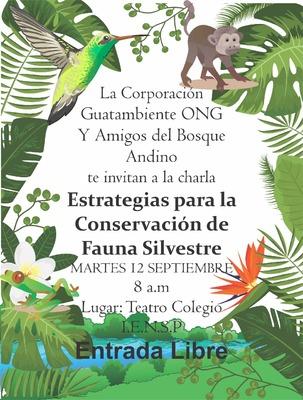 Estrategias para la conservación de la Fauna Silvestre