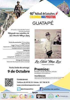 Premiacion 10 festival de caricatura Colombia más positiva