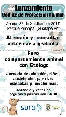 lanzamiento del comité protección animal.