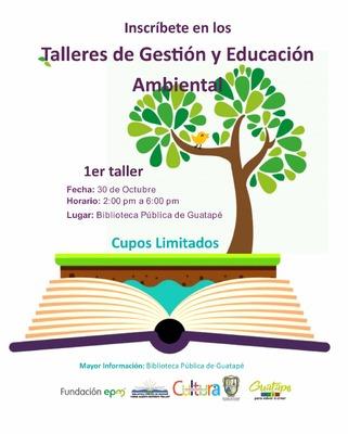 Taller de gestión y  educación ambiental