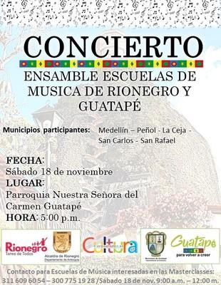 Ensamble de escuelas de música de Rionegro y  Guatapé