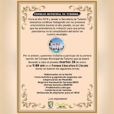 Reunión Consejo Municipal de Turismo
