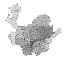 Mapa en Antioquia