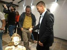 Exposición de escultura  del  artista plástico  José Ignacio Vélez