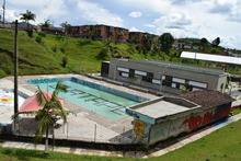 obra piscina