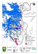 Localización de actividades, infraestructura y equipamientos básicos zona rural