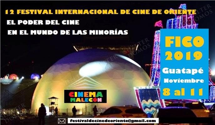 12º Festival Internacional de Cine de Oriente en Guatapé del 8 al 11 de noviembre
